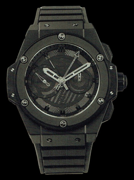 HUBLOT(ウブロ) 限定 KING POWER 48mm ALL BLACK 715.CI.0110.RX