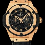 HUBLOT(ウブロ) 限定 KING POWER 48mm GOLD 715.PX.1128.RX