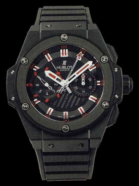 HUBLOT(ウブロ) 限定 KING POWER 48mm BLACK MAGIC 715.CI.1123.RX