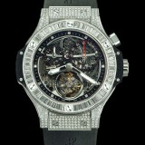 HUBLOT(ウブロ) BIG BANG 44mm bigger bang platinum baguatte 308.TX.130.RX.094