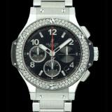 HUBLOT(ウブロ) BIG BANG 41mm steel diamonds bracelet 342.SX.130.SX.114