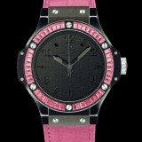HUBLOT(ウブロ) 限定 BIG BANG 38mm BLACK TUTTI FRUTTI ROSE 361.CP.1110.LR.1933