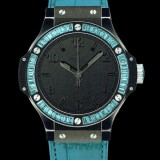 HUBLOT(ウブロ) 限定 BIG BANG 38mm BLACK TUTTI FRUTTI BLUE 361.CL.1110.LR.1907
