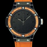 HUBLOT(ウブロ) 限定 BIG BANG 38mm BLACK TUTTI FRUTTI ORANGE 361.CO.1110.LR.1906