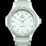 HUBLOT(ウブロ) BIG BANG 38mm STEEL WHITE DIAMONDS BRACELET 365.SE.2110.SE.1105