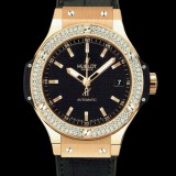 HUBLOT(ウブロ) BIG BANG 38mm GOLD DIAMOND 365.PX.1180.LR.1104