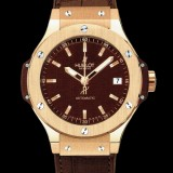 HUBLOT(ウブロ) BIG BANG 38mm CAPPUCINO GOLD 365.PC.3180.LR
