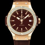 HUBLOT(ウブロ) BIG BANG 38mm CAPPUCINO GOLD DIAMONDS 365.PC.3180.LR.1104