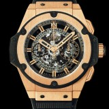 HUBLOT(ウブロ) 限定 KING POWER 48mm KING GOLD 701.OX.0180.RX