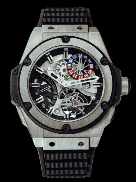 HUBLOT(ウブロ) 限定 KING POWER 48mm ZIRCONIUM 706.ZX.1170.RX
