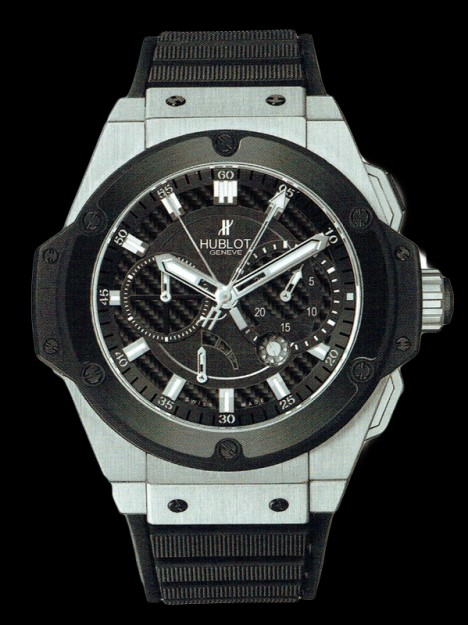 HUBLOT(ウブロ) 限定 KING POWER 48mm ZIRCONIUM CERAMICS 709.ZM.1770.RX