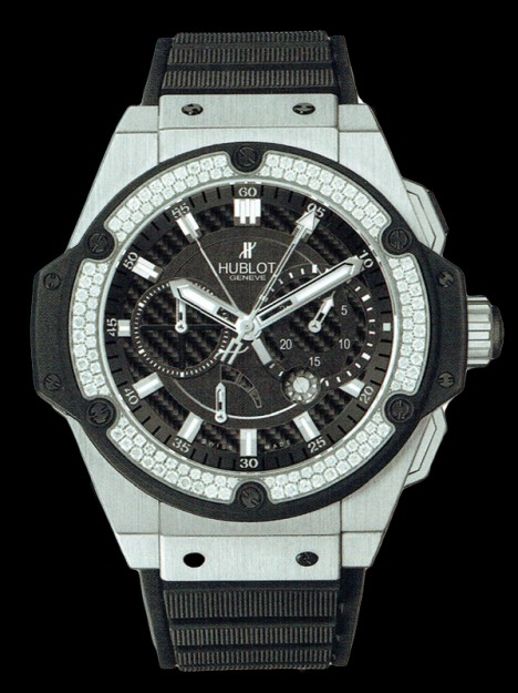 HUBLOT(ウブロ) KING POWER 48mm ZIRCONIUM DIAMOND 709.ZX.1770.RX.1104