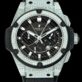 HUBLOT(ウブロ) KING POWER 48mm ZIRCONIUM PAVE 709.ZX.1770.RX.1704