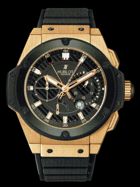 HUBLOT(ウブロ) 限定 KING POWER 48mm KING GOLD CERAMIC 709.OM.1780.RX