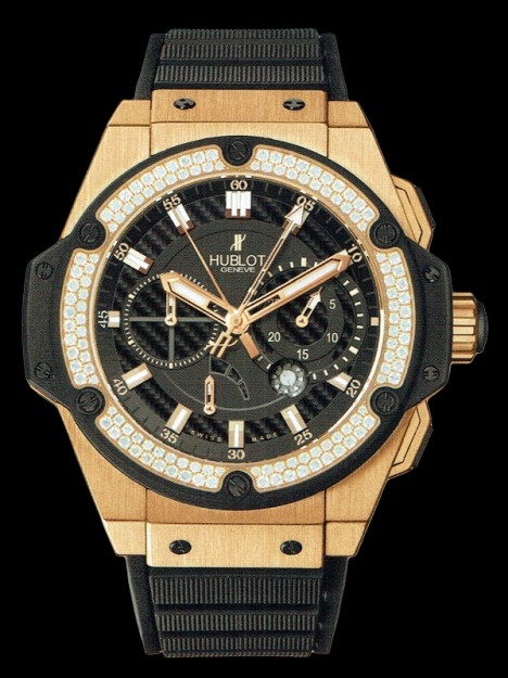 HUBLOT(ウブロ) KING POWER 48mm KING GOLD DIAMONDS 709.OM.1780.RX.1104