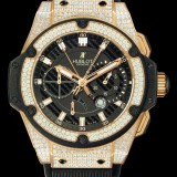 HUBLOT(ウブロ) KING POWER 48mm KING GOLD PAVE 709.OX.1780.RX.1704
