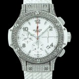 HUBLOT(ウブロ) BIG BANG 41mm steel white pave 342.SE.230.RW.174