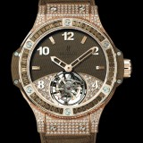 HUBLOT(ウブロ) 限定 BIG BANG 41mm TUTTI FRUTTI TOURBILLON BROWN PAVE 341.PC.5490.LR.0916