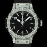 HUBLOT(ウブロ) BIG BANG 38mm STEEL PAVE 361.SX.1270.RX.1704