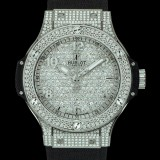 HUBLOT(ウブロ) BIG BANG 38mm STEEL FULL PAVE 361.SX.9010.RX.1704