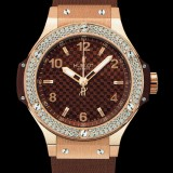 HUBLOT(ウブロ) BIG BANG 38mm CAPPUCCINO GOLD DIAMONDS 361.PC.3380.RC.1104