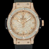 HUBLOT(ウブロ) BIG BANG 38mm GOLD FULL PAVE 361.PX.9010.RX.1704