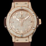 HUBLOT(ウブロ) BIG BANG 38mm CAPPUCCINO GOLD FULL PAVE 361.PC.9010.RC.1704