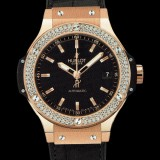 HUBLOT(ウブロ) BIG BANG 38mm GOLD DIAMONDS 365.PX.1180.LR.1104