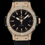 HUBLOT(ウブロ) BIG BANG 38mm GOLD PAVE 365.PX.1180.LR.1704