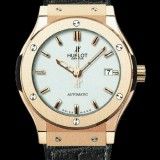 HUBLOT(ウブロ) CLASSIC FUSION 42mm KING GOLD OPALIN BRACELET 542.NX.2610.LR