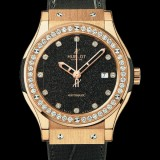 HUBLOT(ウブロ) CLASSIC FUSION 42mm GOLD FLUS BLEU 542.ON.8490.LR.1204