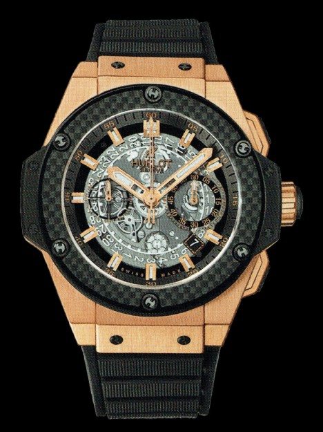 HUBLOT(ウブロ) KING POWER 48mm UNICO KING GOLD TITANIUM 701.OQ.0180.RX