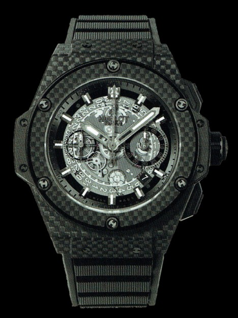 HUBLOT(ウブロ) KING POWER 48mm UNICO ALL CARBON 701.QX.0140.RX