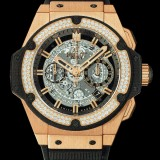 HUBLOT(ウブロ) KING POWER 48mm KING GOLD DIAMONDS 701.OX.0180.RX.1104