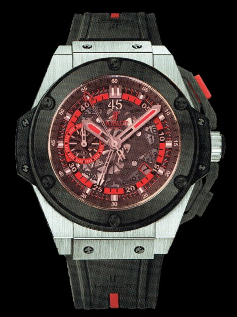 HUBLOT(ウブロ) 限定 KING POWER 48mm UEFA EURO 2012 POLAND 716.NM.1129.RX.EUR12