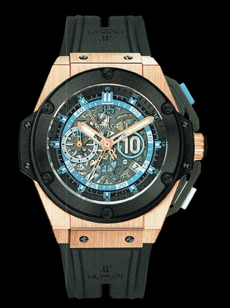 HUBLOT(ウブロ) 限定 KING POWER 48mm MARADONA KING GOLD CERAMIC 716.OM.1129.RX.DMA12