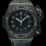 HUBLOT(ウブロ) 限定 KING POWER 48mm OCEANOGRAPHIC 4000 All Black Blue 731.QX.1190.GR.ABB12