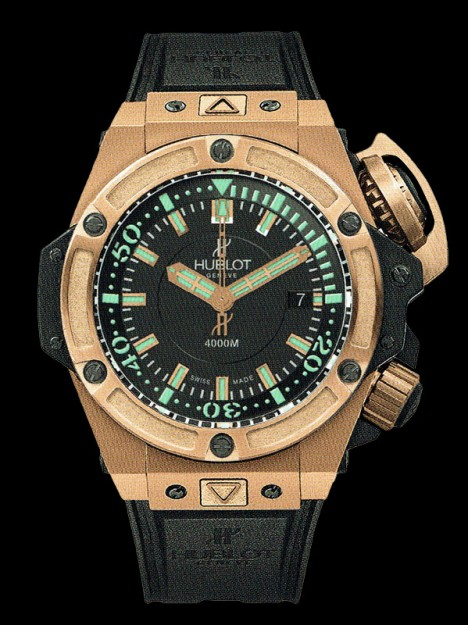 HUBLOT(ウブロ) 限定 KING POWER 48mm OCEANOGRAPHIC 4000 KING GOLD 731.OX.1170.RX