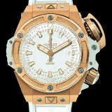 HUBLOT(ウブロ) 限定 KING POWER 48mm OCEANOGRAPHIC 4000 KING GOLD WHITE 731.OE.1180.RW