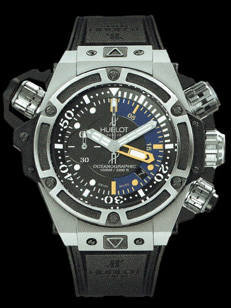 HUBLOT(ウブロ) 限定 KING POWER 48mm OCEANOGRAPHIC 1000 TITANIUM 732.NX.1127.RX