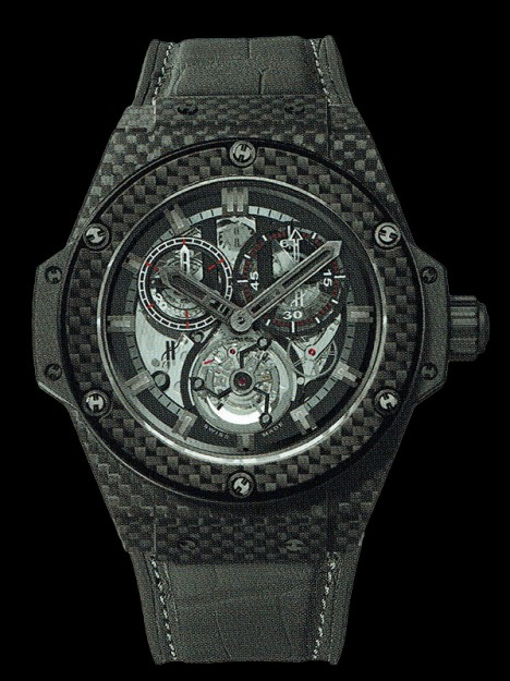 HUBLOT(ウブロ) 限定 KING POWER 48mm CARBON 704.QX.1137.GR