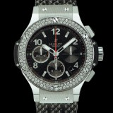 HUBLOT(ウブロ) BIG BANG 41mm steel diamonds 342.SX.130.RX.114