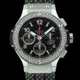 HUBLOT(ウブロ) BIG BANG 41mm steel diamonds 342.SX.130.RX.114