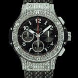 HUBLOT(ウブロ) BIG BANG 41mm steel pave 342.SX.130.RX.174