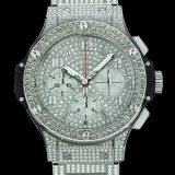 HUBLOT(ウブロ) BIG BANG 41mm steel bracelet full pave 341.SX.9010.SX.3704