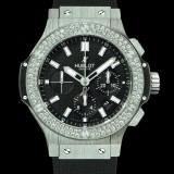 HUBLOT(ウブロ) BIG BANG 44mm steel diamonds 301.SX.1170.RX.1104