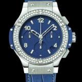 HUBLOT(ウブロ) BIG BANG 41mm steel tutti frutti dark blue diamonds 342.SL.5190.LR.1104
