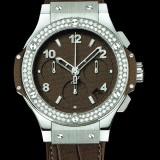 HUBLOT(ウブロ) BIG BANG 41mm steel tutti frutti dark brown diamonds 342.SC.5490.LR.1104