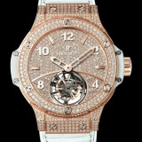 HUBLOT(ウブロ) 限定 BIG BANG 41mm TUTTI FRUTTI TOURBILLON FULL PAVE 345.PE.9010.LR.1704