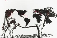 ウブロ グリーティング 牛